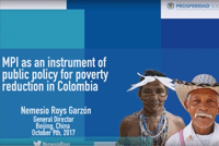 Multidimensional Poverty in Colombia