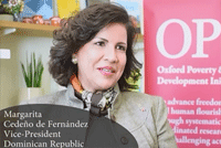 Vice-President of Dominican Republic celebrates OPHI's impact